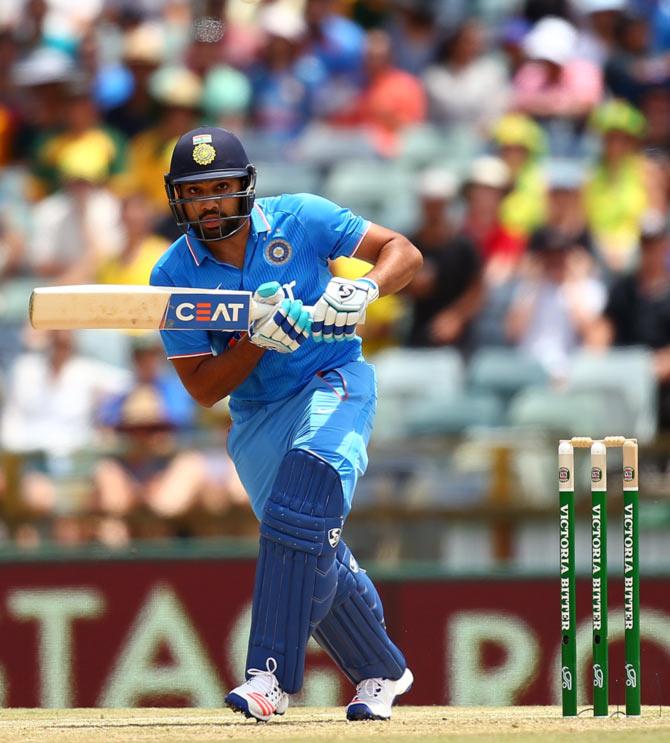 Rediff Sports - Cricket, Indian hockey, Tennis, Football, Chess, Golf - Number crunching: Rohit's run-riot at Perth