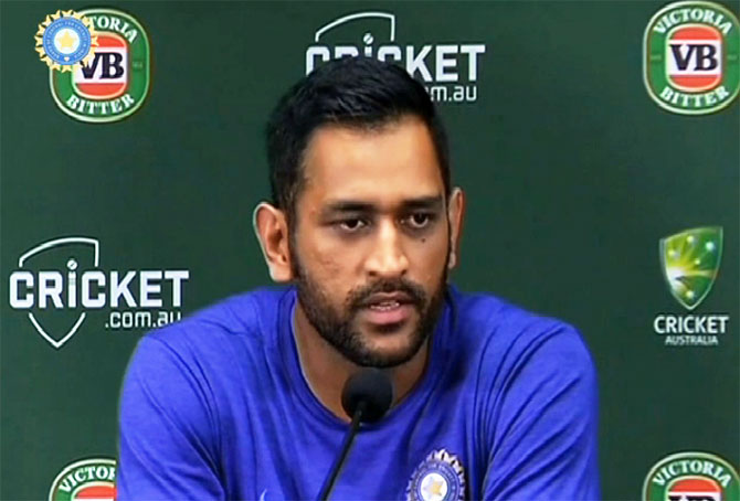 Rediff Cricket - Indian cricket - Dhoni 'still not convinced' about DRS