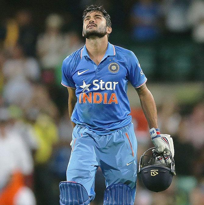 Rediff Cricket - Indian cricket - 'Visualisation' helped Manish Pandey play match-winning knock