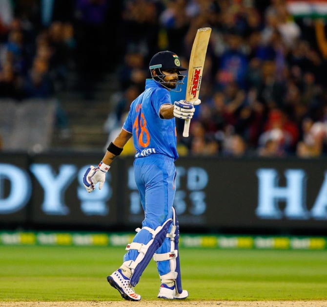 Icc T20 Rankings Kohli Rises To No 1 Rediff Cricket