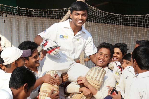 Tendulkar, Harbhajan applaud 1000-runs lad Dhanawade