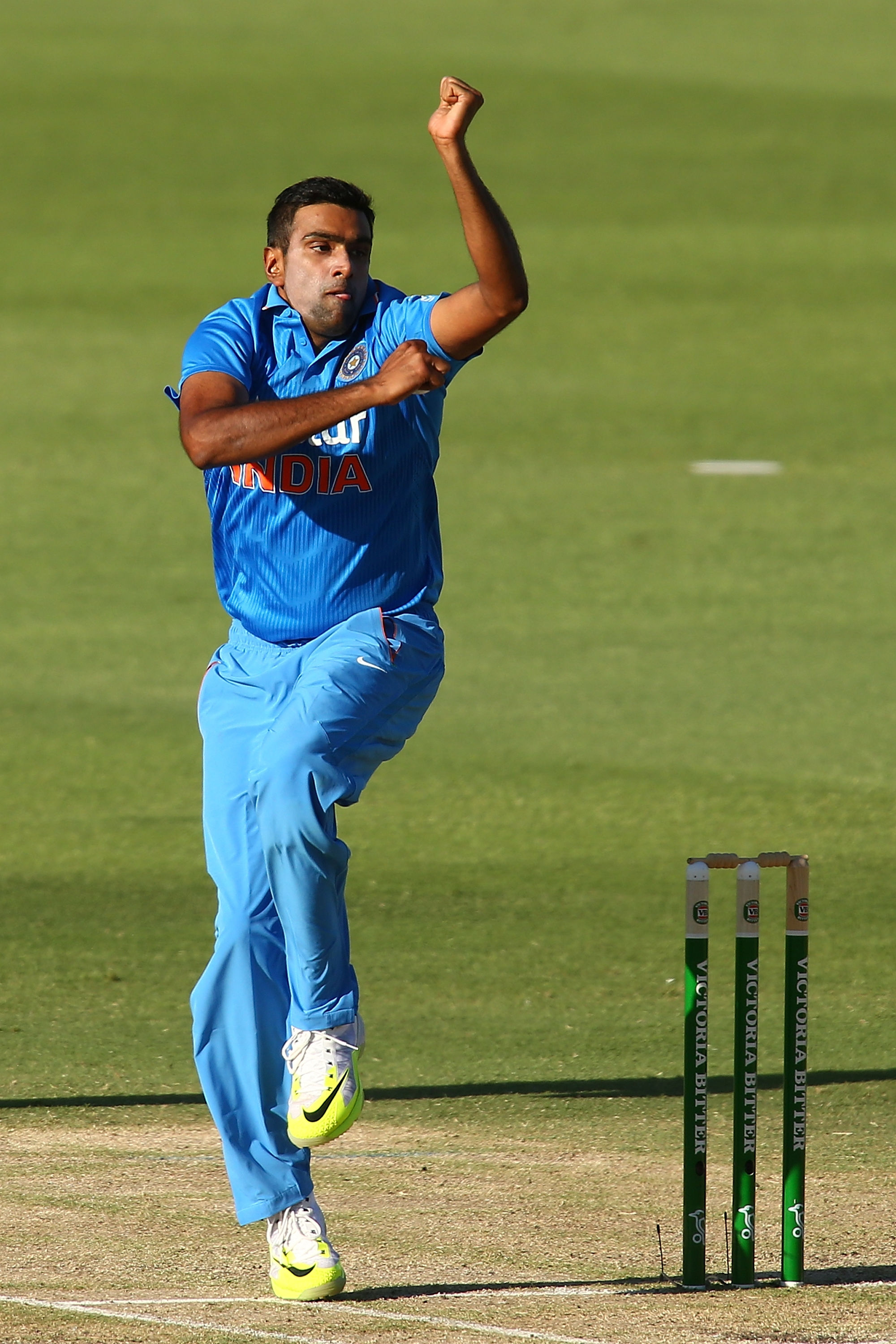 Ashwin keeps adding weapons to his arsenal, improving all the time. Photograph: Paul Kane/Getty Images