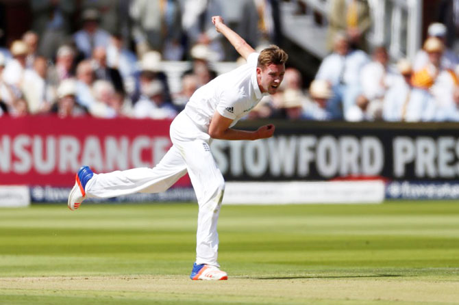 Rediff Cricket - Indian cricket - England pacer Jake Ball eager to prove critics wrong