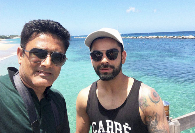 Rediff Cricket - Indian cricket - 'We want to talk to the experienced Kumble and learn from him'