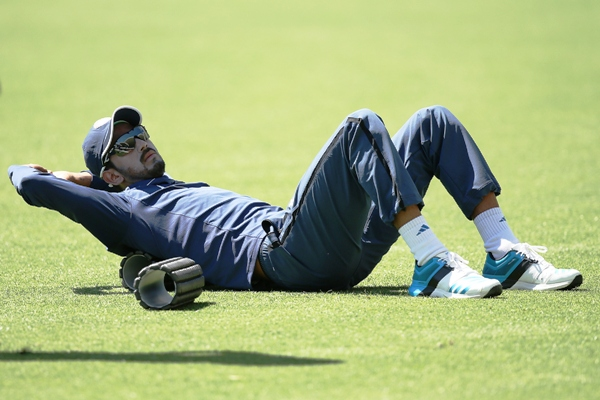 Rediff Cricket - Indian cricket - Rahul sidelined by injury, Dhawan back in contention for next Test