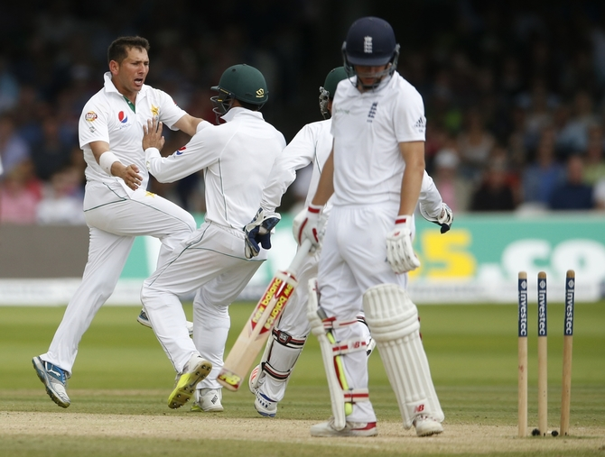 Rediff Cricket - Indian cricket - Pakistan's Lord's hero Shah becomes top-ranked Test bowler