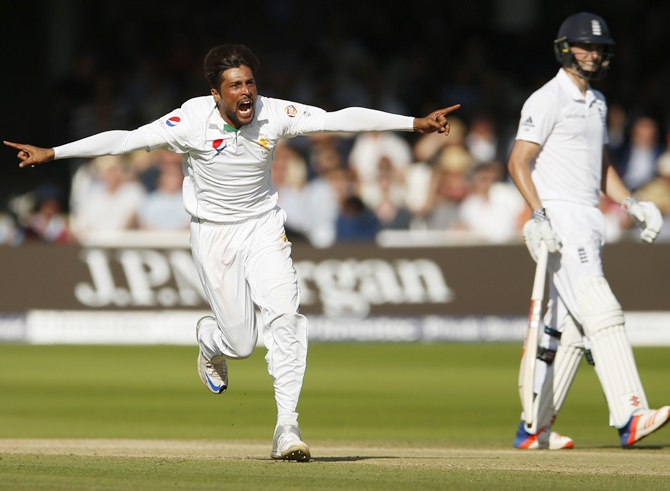 Rediff Cricket - Indian cricket - Mohammad Amir's redemption at Lord's