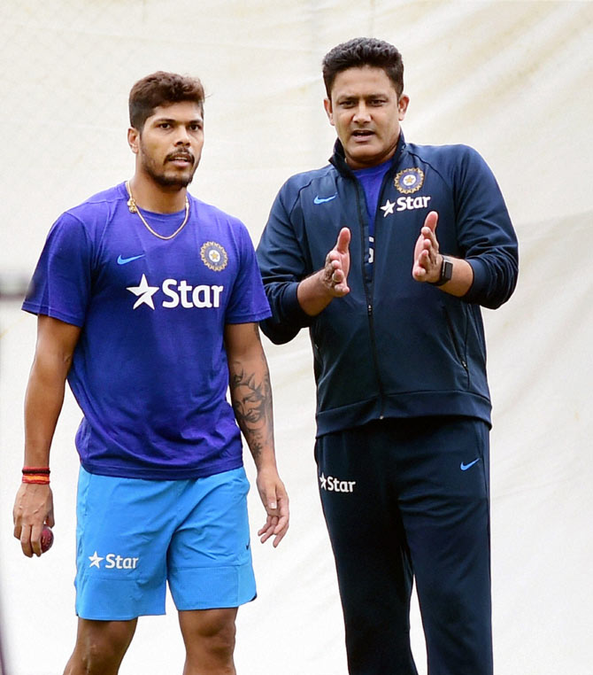 Rediff Cricket - Indian cricket - Check out Kumble's plans for India's batsmen and bowlers in WI Tests