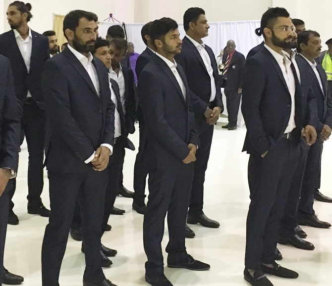 Rediff Cricket - Indian cricket - PIX: PIX: Team India shines at WICB Players' Awards Ceremony