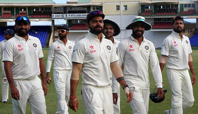 Rediff Cricket - Indian cricket - West Indies vs India: How the teams stack up