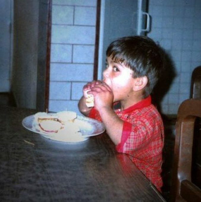 Rediff Cricket - Indian cricket - Guess who this chubby kid is!