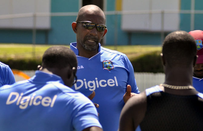 Rediff Cricket - Indian cricket - Inexperienced West Indies wary of India's spin threat