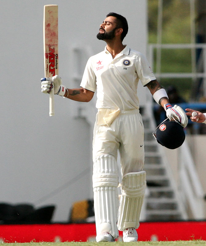 Rediff Sports - Cricket, Indian hockey, Tennis, Football, Chess, Golf - One good habit Kohli swears by- WINNING!