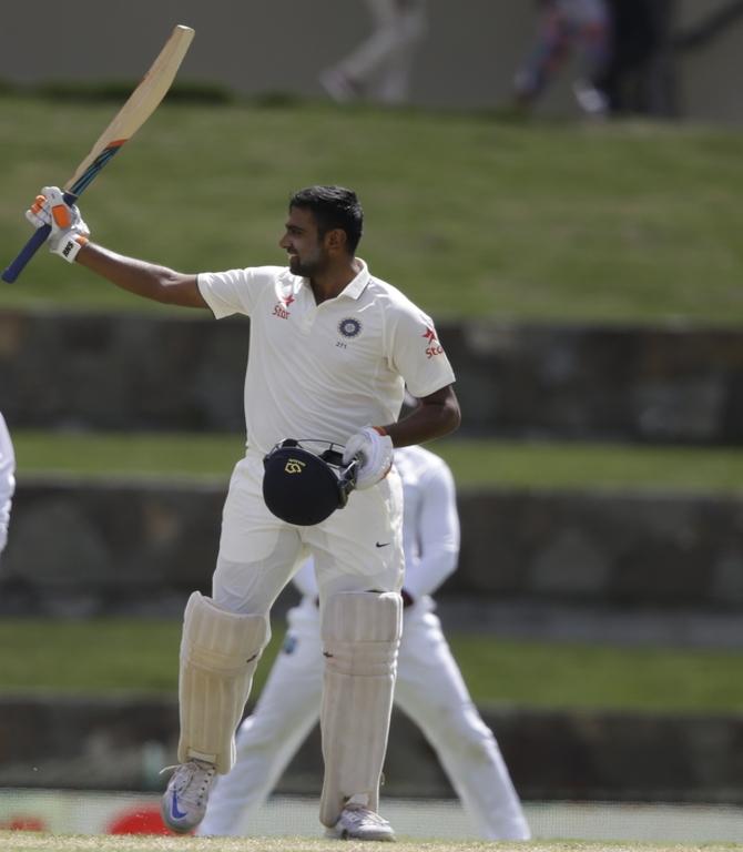 Rediff Cricket - Indian cricket - When Kohli asked Ashwin to bat at No 6...