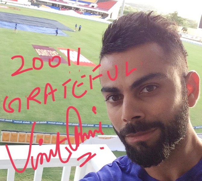 Rediff Cricket - Indian cricket - How Kohli wiped off memories of his forgettable debut tour