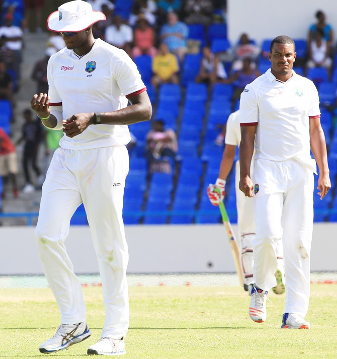 Rediff Cricket - Indian cricket - 4 reasons why West Indies bowlers failed