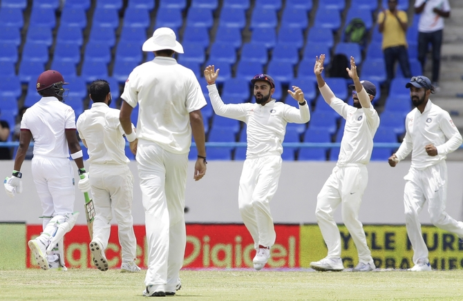 Rediff Cricket - Indian cricket - A Herculean task awaits West Indies against India