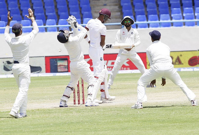 Rediff Sports - Cricket, Indian hockey, Tennis, Football, Chess, Golf - When Windies surrendered meekly against India...