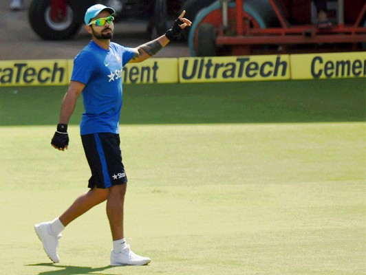 Rediff Sports - Cricket, Indian hockey, Tennis, Football, Chess, Golf - 'Virat's captaincy is a reflection of his aggressive personality'