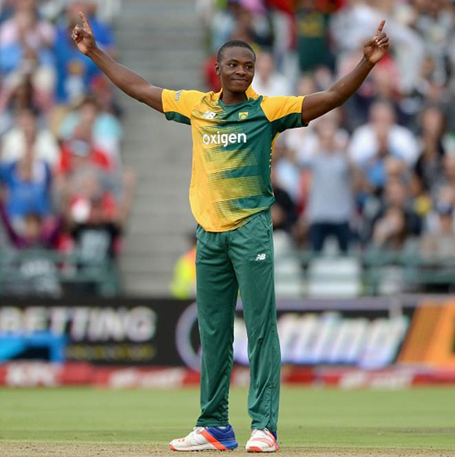 Rediff Sports - Cricket, Indian hockey, Tennis, Football, Chess, Golf - Fast bowler Rabada snares six at South Africa's annual awards