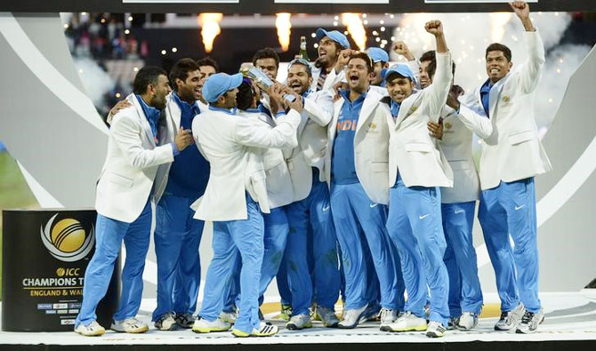Dhoni reckons consistency, crowd support can help India retain Champions Trophy