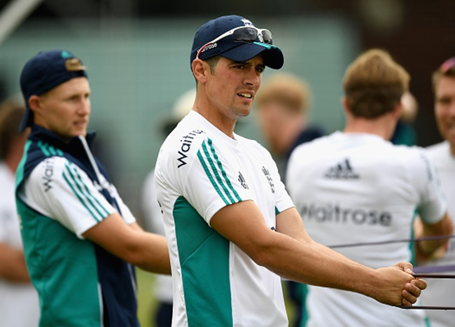 Rediff Sports - Cricket, Indian hockey, Tennis, Football, Chess, Golf - Root backs Cook to continue as England captain