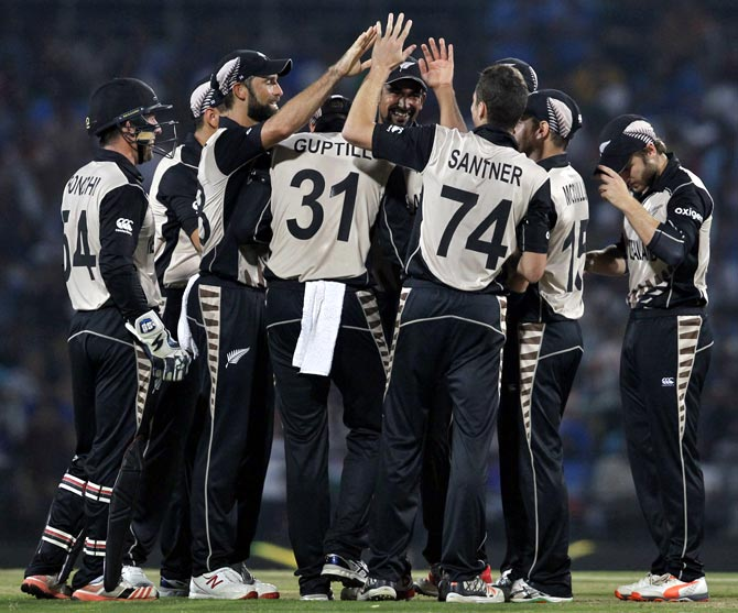 Rediff Cricket - Indian cricket - Stats: New Zealand spinners script history against India at Nagpur
