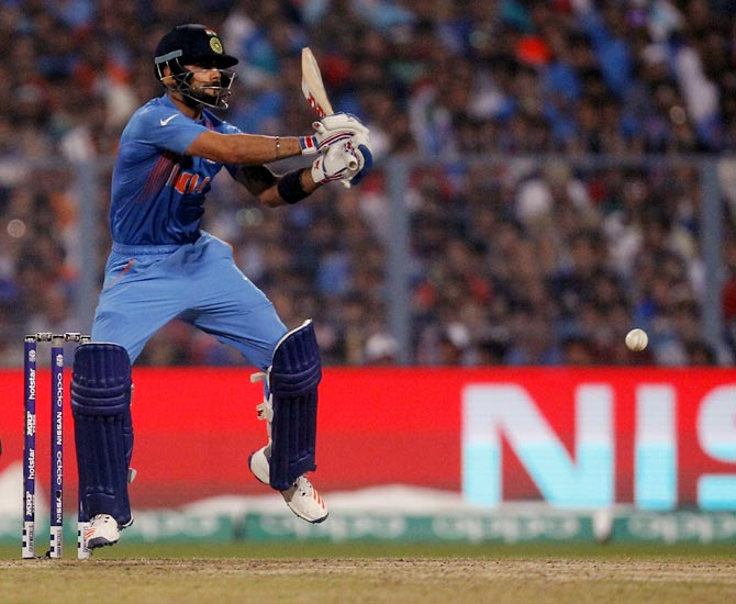 Rediff Cricket - Indian cricket - Numbers game: Kohli, the master of run chases!