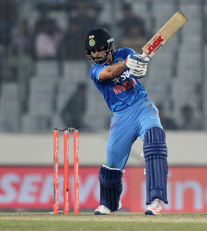 Virat Kohli scored a match-winning half-century against Sri Lanka in the Asia Cup