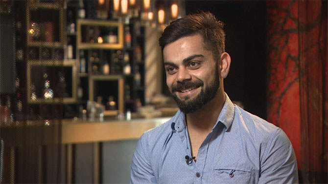 Of Kohli's gratitude-filled gesture and that funny nickname