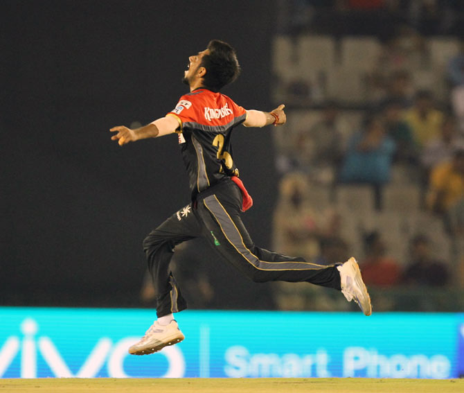 Rediff Cricket - Indian cricket - IPL: Can RCB make playoffs? Yes, says Chahal