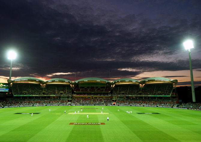Rediff Cricket - Indian cricket - India tickled pink as Asia warms to day-night Tests