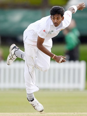 Rediff Cricket - Indian cricket - 3rd Test: Chameera, Gamage called up to Sri Lanka squad