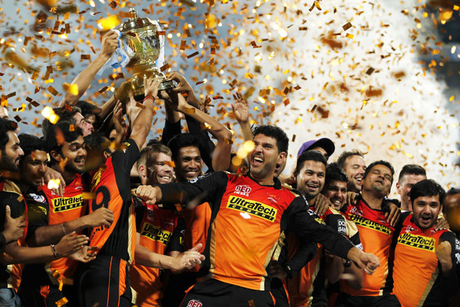 Rediff Cricket - Indian cricket - The numbers that shaped IPL 2016