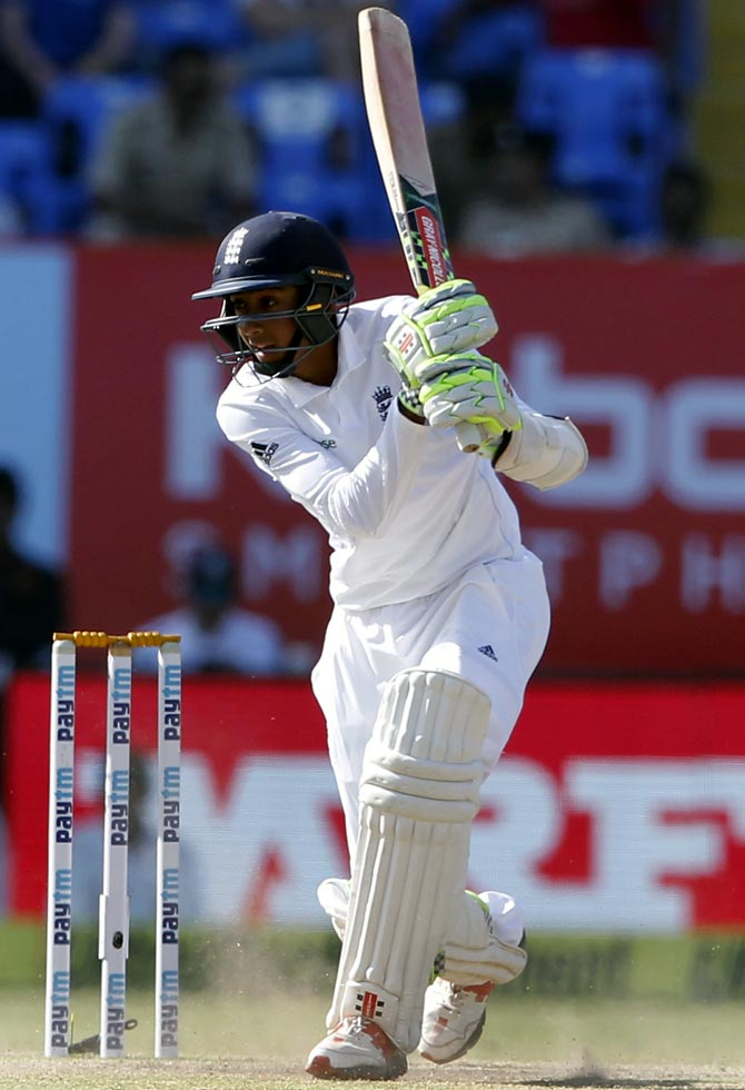 Rediff Sports - Cricket, Indian hockey, Tennis, Football, Chess, Golf - England's Haseeb Hameed to miss last two Tests