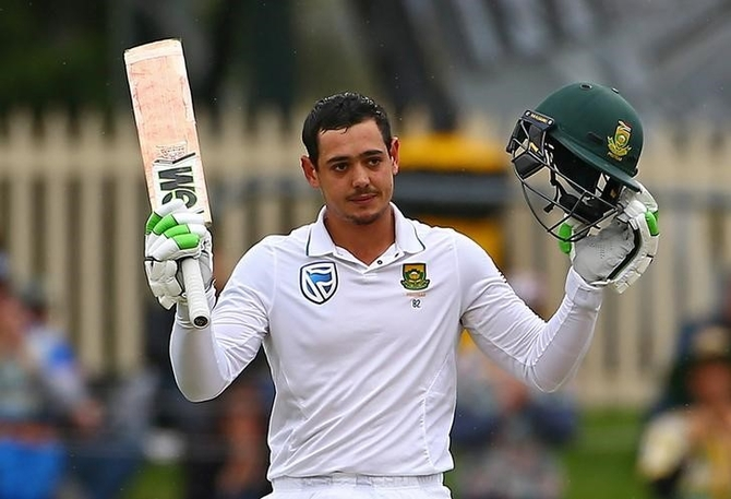 Rediff Cricket - Indian cricket - De Kock fit and other injury updates for 3rd Test between NZ and SA