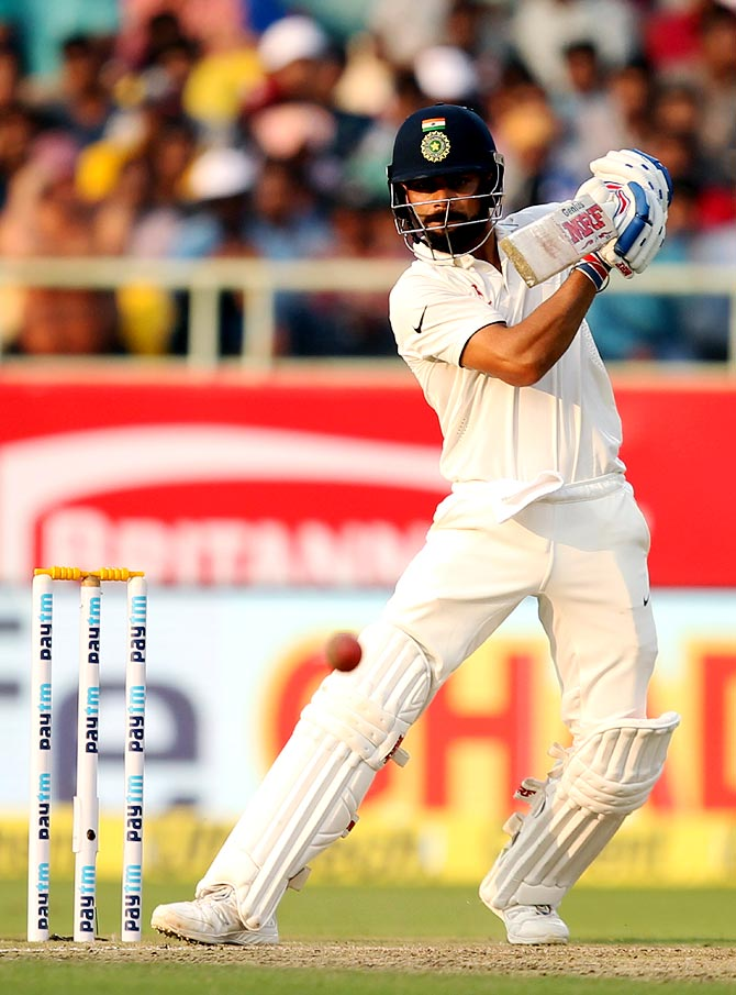 Rediff Cricket - Indian cricket - Highlights: Centurion Kohli emulates Gavaskar, Viswanath, VVS...