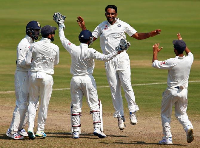 Rediff Cricket - Indian cricket - Ashwin exceptional, Jayant has shown maturity: Kumble
