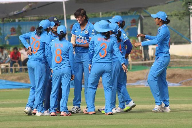 Rediff Cricket - Indian cricket - Indian eves trounce Bangladesh in T20 Asia Cup opener