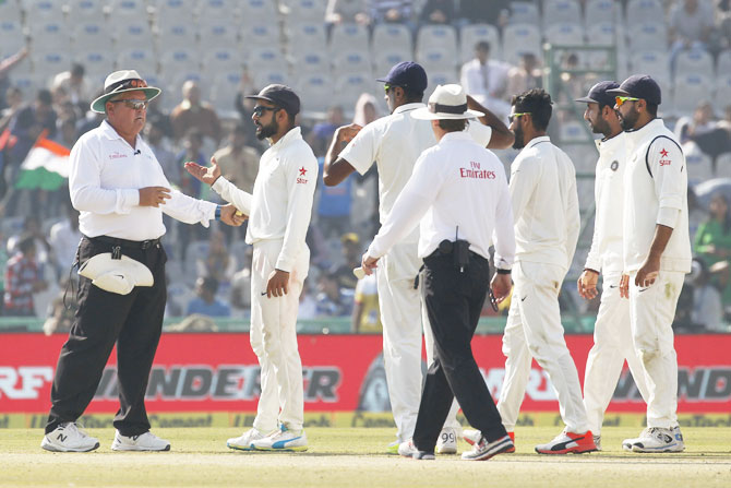 Rediff Cricket - Indian cricket - Bairstow douses fire 'Stoked' by Virat's send-off