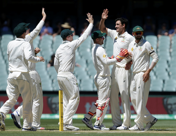 Rediff Cricket - Indian cricket - Australia earn a consolation win in Adelaide