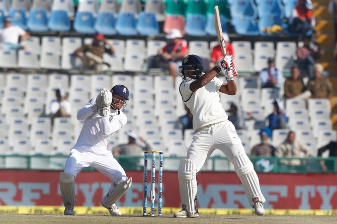 Jayant Yadav scored his maiden Test 50