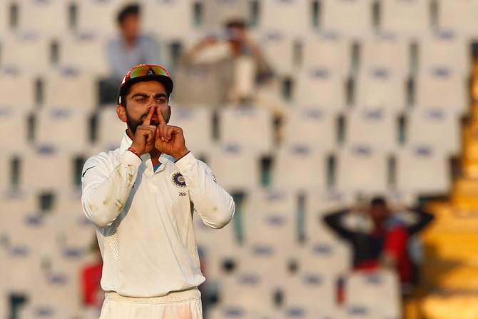 Rediff Sports - Cricket, Indian hockey, Tennis, Football, Chess, Golf - Gavaskar disappointed by Kohli's send-off to Stokes