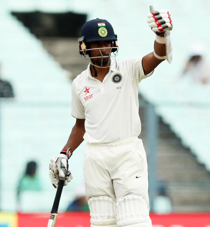 Rediff Sports - Cricket, Indian hockey, Tennis, Football, Chess, Golf - Stats: Saha rules the roost on home turf