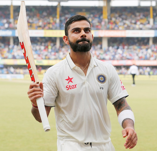Rediff Sports - Cricket, Indian hockey, Tennis, Football, Chess, Golf - Another world record for Virat Kohli