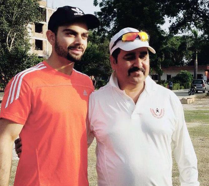 Virat Kohli's childhood coach on his ward's success
