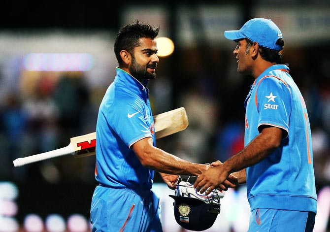Rediff Cricket - Indian cricket - Why England will fear Dhoni and Kohli