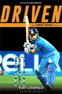 Book cover: Driven -- The Virat Kohli story