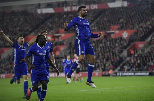EPL: Chelsea cruise past Southampton, Everton beat West Ham