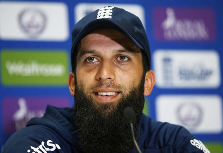 Rediff Cricket - Indian cricket - England's Moeen fit to return ahead of Ashes opener
